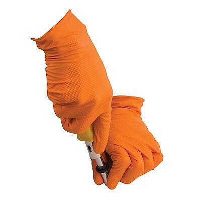 Tiger Grip Professional Nitrile Mechanic/Garage/Workshop Work Gloves -Box Of 100