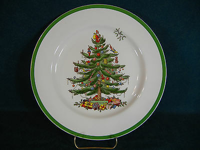 Copeland Spode Christmas Tree Dinner Plate Old Mark Made in England