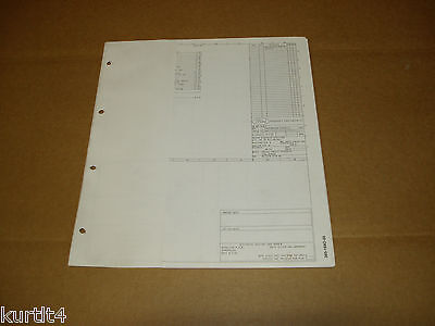 1986 ford bronco wiring diagram schematic sheet service manual