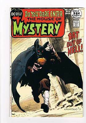 House of Mystery # 195  Wrightson swamp creature grade 8.0 scarce hot book !!