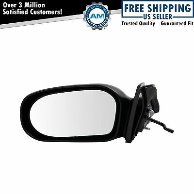 Manual Remote Side View Mirror Driver Left LH for 03-08 Toyota Matrix