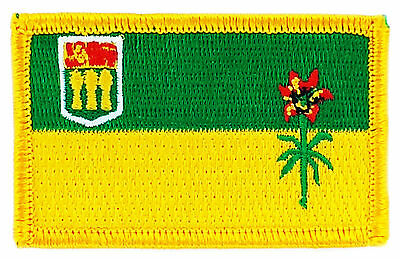 FLAG PATCH PATCHES ACADIE ACADIA IRON ON EMBROIDERED CANADA PROVINCE