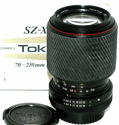 TOKINA SZ-X 210 70-210mm f4-5.6 SD FOR CANON FD MANUAL FOCUS MOUNT SEE LISTING