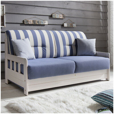 Schlafsofa Campus Polster Stoff Sofa Couch Massiv Holz Schlafcouch Bettfunktion
