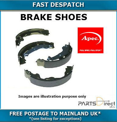APEC REAR BRAKE SHOES FOR TOYOTA CELICA 2.0 GT COUPE 3/1994-11/1999 5691