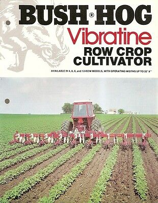 Farm Implement Brochure - Bush Hog - Vibratine - Row Crop Cultivator (F1753)