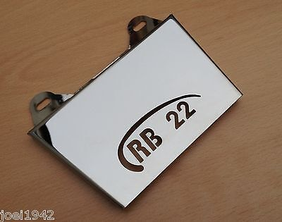 Rb 22 Stainless Steel Mudflap. Laser Cut. Brand New