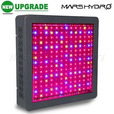 Mars Hydro Mars II 900W LED Grow Light Panel Voll Spektrum Wachsen Blumen Gemüse