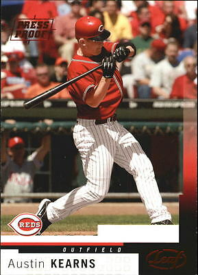 2004 Leaf Press Proofs Red #122 Austin Kearns