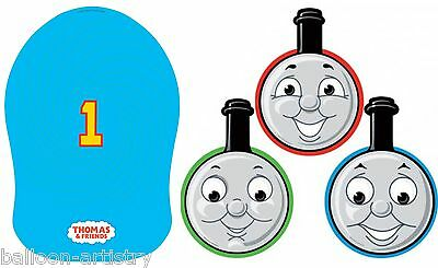 8 x Thomas The Tank Engine Masks + 8 Spiral Hats Party Favours Gifts