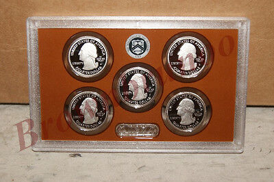 2014 S US Mint America the Beautiful Park Quarters ATB PROOF Cameo 5 Coins