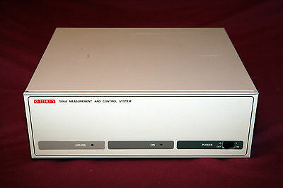 Keithley 500A Measurement And Control System - Data Acquisition Dac  With Cards