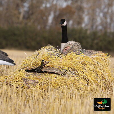 Avery Greenhead Gear Killerweed Goose Layout Blind Kit Golden Harvest Camo