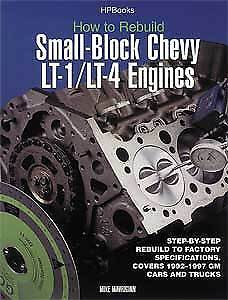 HP Books 1-557-883939 Book: How to Rebuild Small-Block Chevy LT1/LT4 Engines