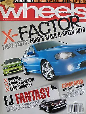 Wheels Magazine November 2008 - 20% Bulk Magazine Discount