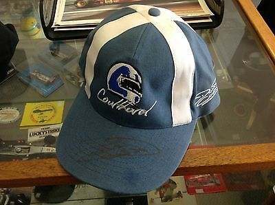 David Coulthard Signed Personal Helmet Design Cap