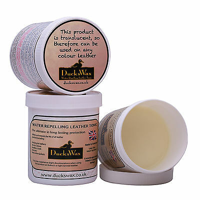 DucksWax 500ml Leather Boots Shoes Jackets Wax Dubbing Waterproof Protector Care