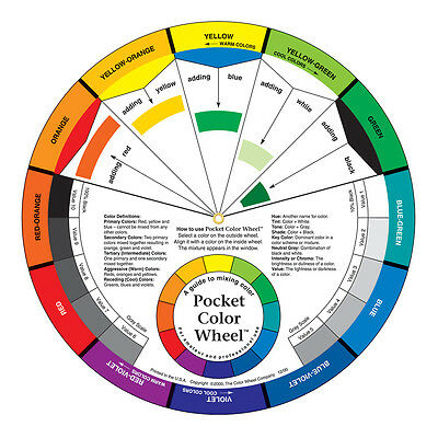 Color Wheel Company : Pocket Color Wheel 5 1/8 inch diameter