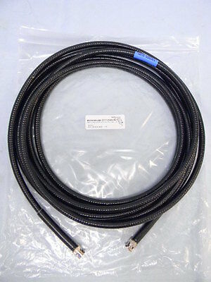NEW 20' Armored Low-Loss BNC to BNC Coaxial Cable 50 Ohms