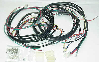 New 1978-79 Harley-Davidson FXE Complete Wiring Harness