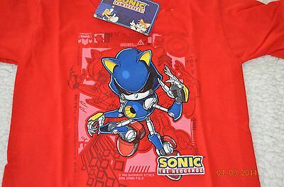 Boys size 3T Sonic Hedgehog T-shirt, top NWT clothing short sleeve Free Shipping
