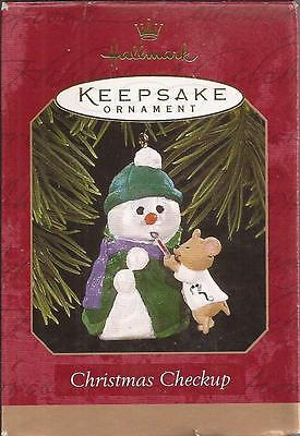 "Hallmark  1997  ""CHRISTMAS CHECKUP""     ""NEW"" Ornament"