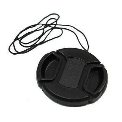 67mm Centre-Pinch Snap-On Front Lens Cap for Nikon or Canon Lenses