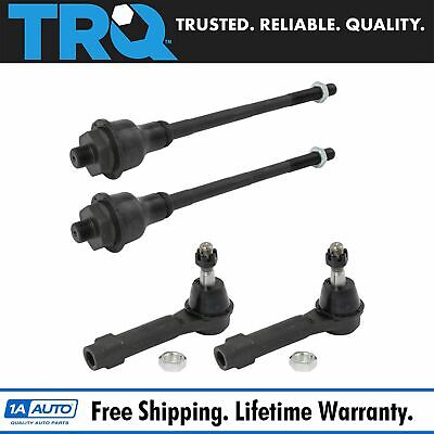 Front Inner & Outer Tie Rod End Kit Set of 4 for Escalade Silverado Tahoe Sierra