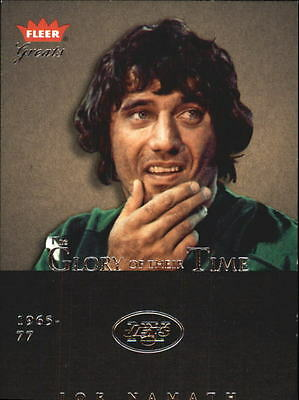 2004 Greats of the Game Glory of Their Time #GOT1 Joe Namath/1967