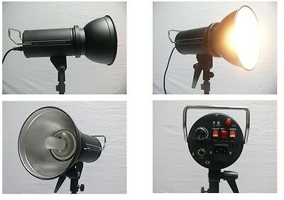 Strobe Flash Head 200W + 150W Modeling Light Unit Clearance, End Line