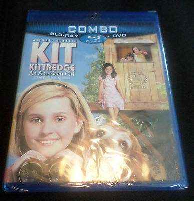 Kit Kittredge: An American Girl (Blu-ray/DVD, 2011, Canadian)