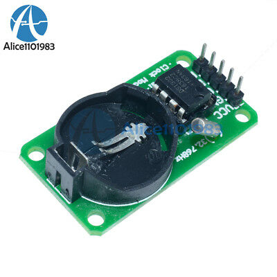 2PCS RTC DS1302 Real Time Clock Module For Arduino AVR ARM PIC SMD than DS1307
