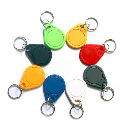 RFID IC Key Tags Keyfobs Token NFC TAG Keychain Mifare 13.56MHz For Arduino