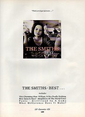 The Smiths-1992 magazine advert