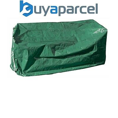 Draper 76231 Garden Bench Furniture Seat Green Protective Cover 2 - 3 Seater