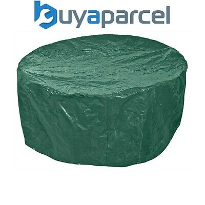 Draper 12913 Small Garden Patio Table Chairs Set Green Cover - 1500 x 900mm OC13
