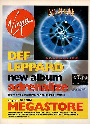 Def Leppard-1992 magazine advert