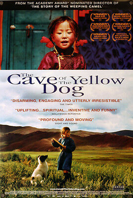 Cave of the Yellow Dog - original movie poster - 27x40