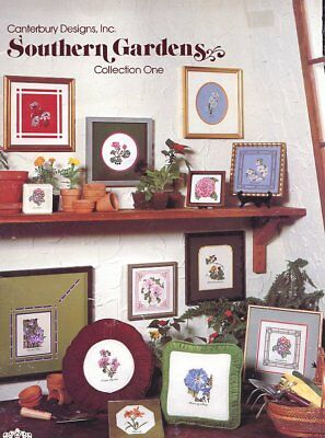 Southern Gardens Collection One Cross Stitch Pattern  - 30 Days To Shop & Pay!