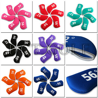 New Golf Iron Head Covers Wedge Headcover For Titleist Vokey SM5 SM6 Neoprene