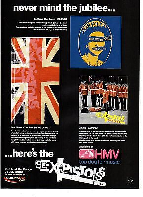 Sex pistols-2002 magazine advert