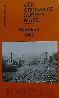 Old Ordnance Survey Maps Stechford Warwickshire 1902 Godfrey Edition