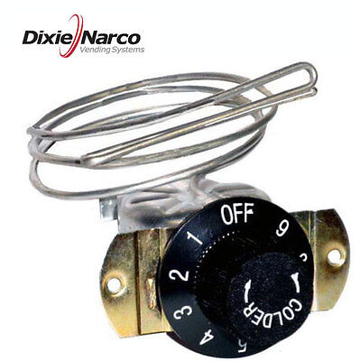 Dixie Narco replacement thermostat, brand new, soda vendors - OEM# 80280009031
