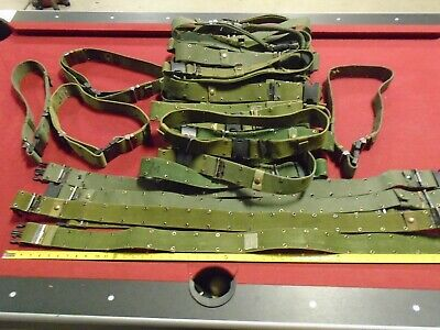 Genuine Usgi Military Surplus Lc3 Pistol Belt Large Lce