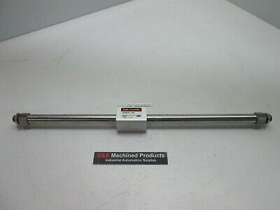 """New SMC NCY2B10H-1000 Rodless Cylinder 3/8"""" Bore 10"""" Stroke 100PSI Max"""
