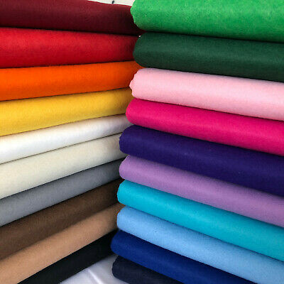 Craft Felt Fabric Acrylic Material Art Sewing Festive Decorations 150cm Wide