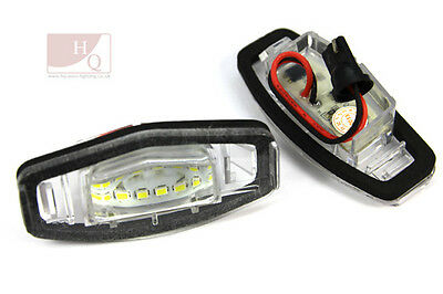 License Number Plate Light Lamp  SMD LED CANBUS fit Honda Civic Accord Legend
