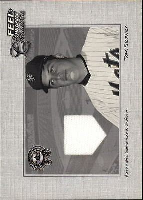 2001 (BB) Greats of the Game Feel the Game Classics #20 Tom Seaver Jsy - NM-MT