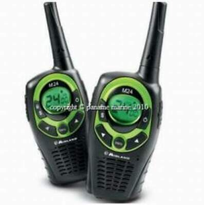 2 X Radio Talkie-Walkie Pack Radio Midland M24  NEUF