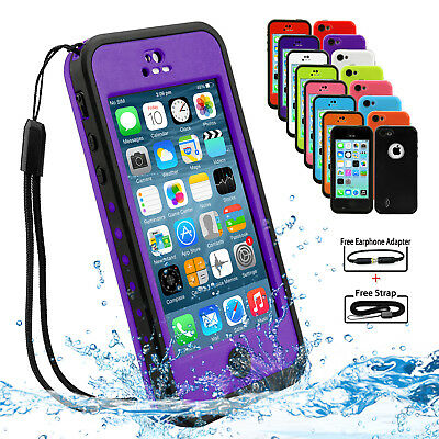 Brand New Waterproof Heavy Duty Tough Hard Case Cover for Apple iPhone 5C